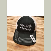 #Baseball Momlife Mesh Back Cap