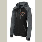 RWLL Ladies Full Zip Performance Hoodie